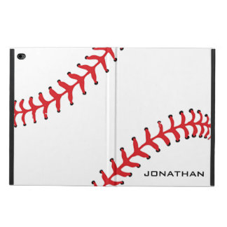Baseball Softball Design iPad Case