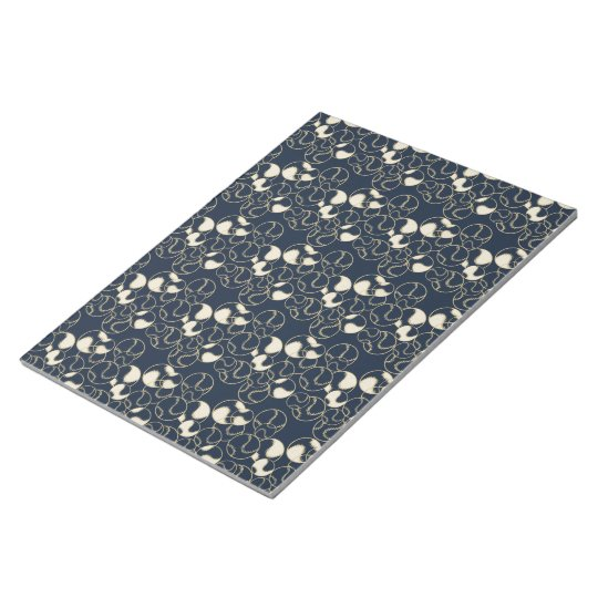 Baseball Softball Gold and Navy Blue Accent Paper