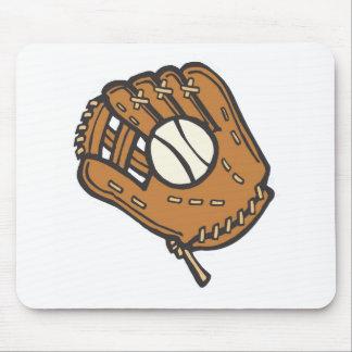 baseball/softball mouse pad