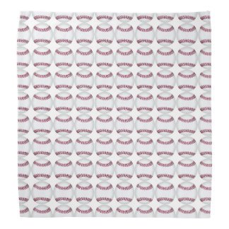 baseball softball pattern bandana