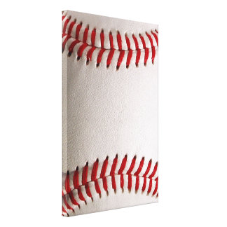 Baseball Sports Gallery Wrapped Canvas