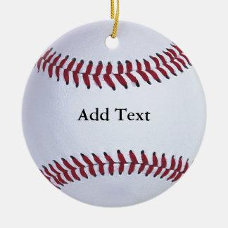 Baseball Sports Christmas Ornament