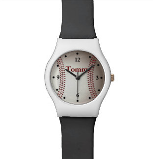 Baseball Sports Custom Watch
