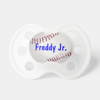 Baseball Sports Lover Personalized Baby Binkie
