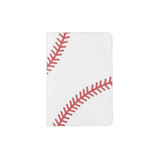 Baseball Sports Passport Cover
