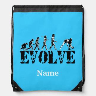 Baseball Sports Personalized Cinch Bag