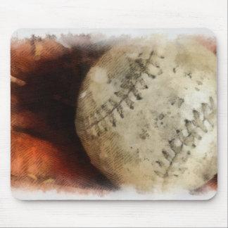 Baseball Sports - Photography  Softball - Ball Mouse Mat