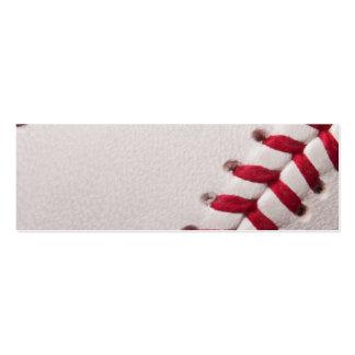 Baseball - Sports Template Baseballs Background Pack Of Skinny Business Cards
