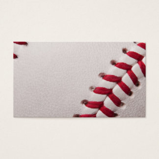 Baseball - Sports Template Baseballs Background Business Card