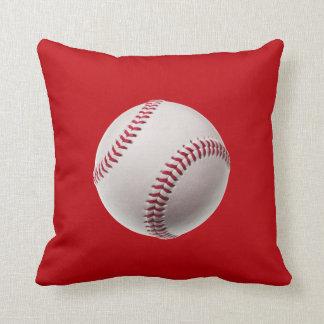 Baseball - Sports Template Baseballs on Red Cushions
