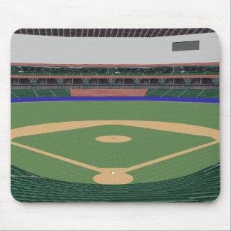 Baseball Stadium: 3D Model: Mouse Mat