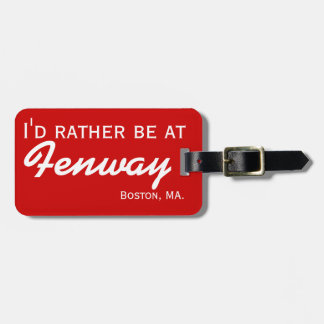 Baseball Stadium Customized Luggage Tag for Travel