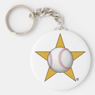 Baseball Star Key Chains