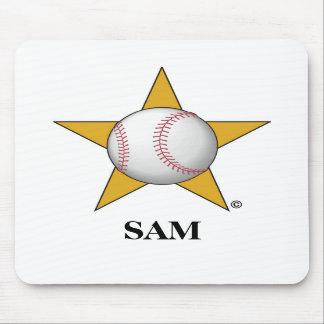 Baseball Star Mousepads