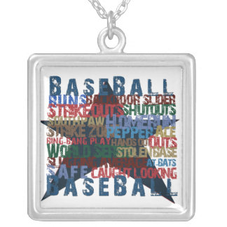 BASEBALL STAR NECKLACE