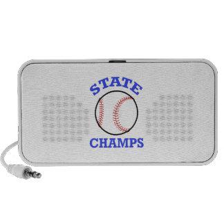 BASEBALL STATE CHAMPS MP3 SPEAKER