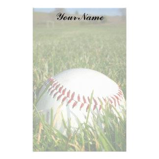 Baseball stationary stationery