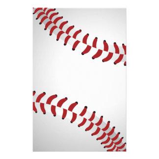 baseball stationery paper