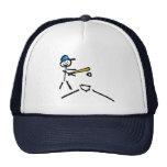 Baseball Stick Figure Hat
