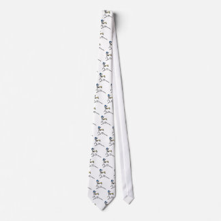 Baseball Stick Figure Tie