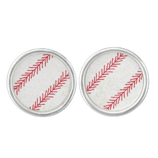 Baseball Stitch Cuff Links