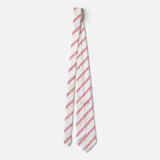 Baseball Stitch Neck Tie