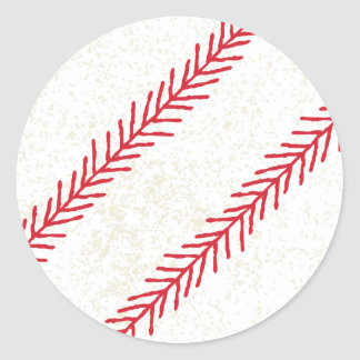 Baseball Stitch Stickers