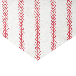 Baseball Stitch Tissue Paper