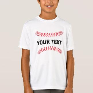 Baseball Stitches Four Seam Fastball Boys T-Shirt