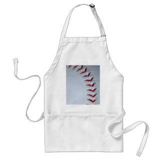 Baseball Stitches Standard Apron