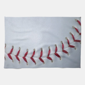 Baseball Stitches Tea Towel