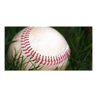 Baseball Stitching Picture Card