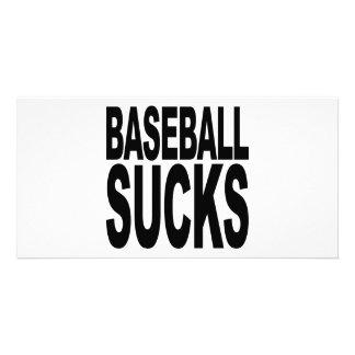 Baseball Sucks Photo Card Template