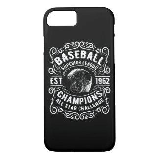 Baseball Superior League Glossy Phone Case