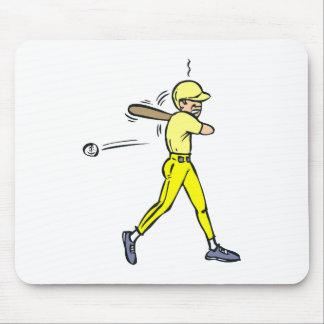 Baseball Swing Mouse Pad