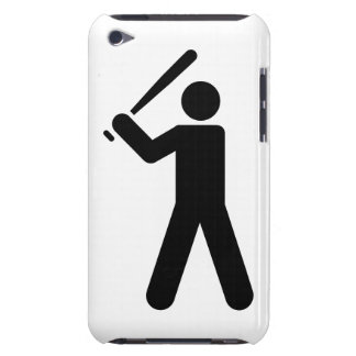 Baseball Symbol Barely There iPod Cases