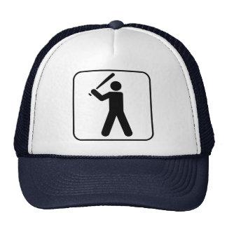 Baseball Symbol Hat