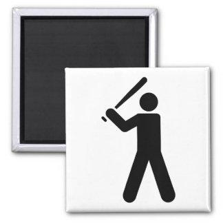 Baseball Symbol Magnet