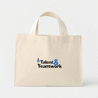 Baseball Talent And Teamwork Tote Bags