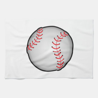 Baseball Tea Towel