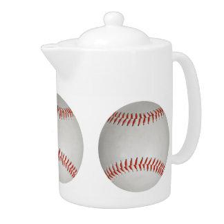 Baseball teapot