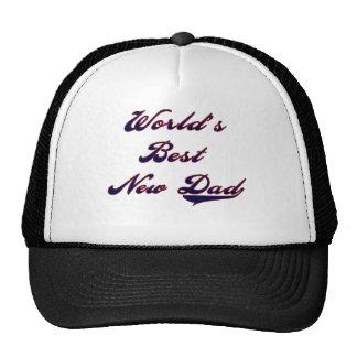 Baseball Text World's Best New Dad Cap
