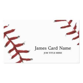 Baseball Texture Illustration Pack Of Standard Business Cards