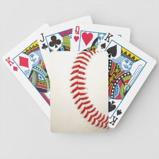 Baseball Texture Playing Cards
