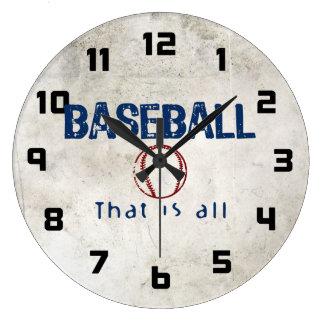Baseball, That Is All Wallclocks