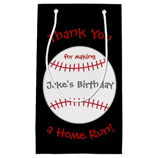 Baseball Theme Bags- Birthday Party Favour Small Gift Bag