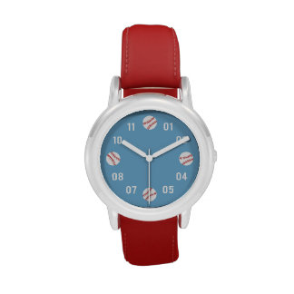 Baseball Theme For Boys Wrist Watches