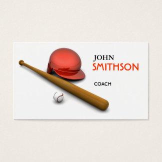 Baseball Themed Business Card