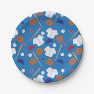 Baseball Themed Party 7 Inch Paper Plate
