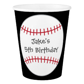 Baseball Themed Party Cups- Birthday